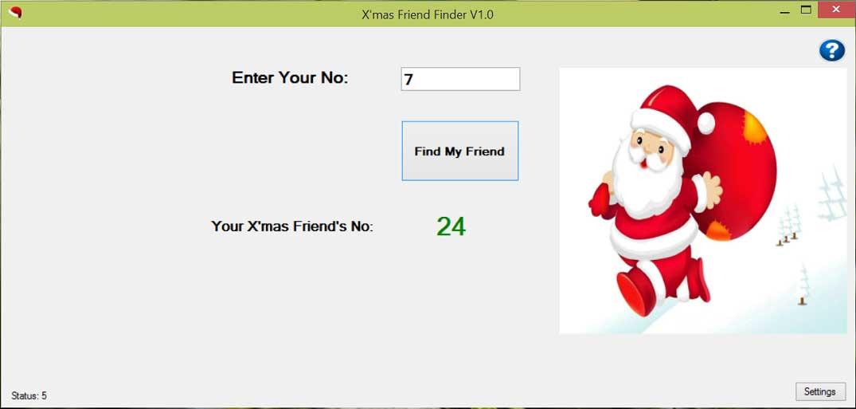 Xmas-Friend-Finder